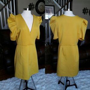 New w/o tag yellow asos dress